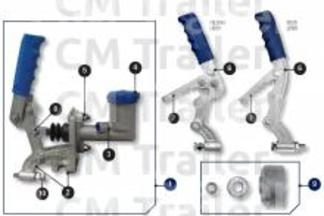 Master Cylinder and Bracket Assembly